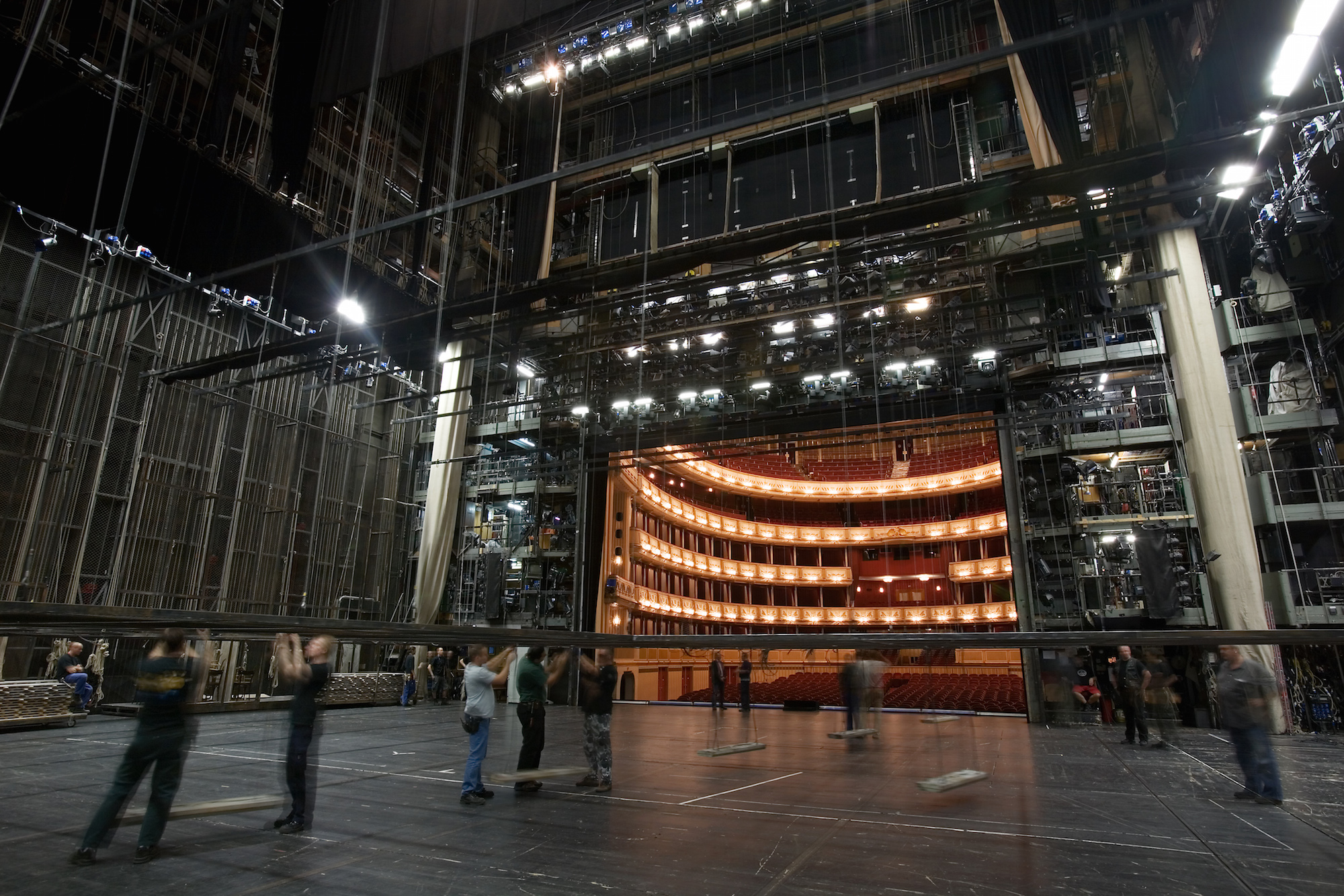 Vienna Opera Backstage, Austria