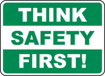 Think - safety first! Workplace safety in 2018